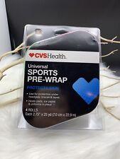 Sports Pre-wrap Protective Skin Wrap. Universal Cvshealth Brand