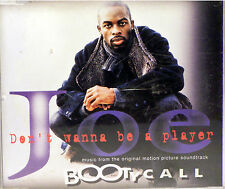 Don't Wanna Be a Player [Single] by Joe (CD, Apr-1997, Jive (USA)) Bootycall!