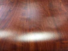 DC200-3028 Calvado Deep Red Wood Grain Self Adhesive Foil 45cm x 5m Made German