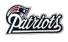 """New England Patriots Logo NFL 3 3/4"""" Embroidered Iron Or Sew On Patch"""