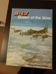 Vintage Board Game B-17 Queen Of The Skies The Avalon Hill Game Company 1983