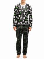 The Nightmare Before Christmas Pajamas Mens 2 Piece Set Jack Skellington NEW NWT