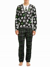 The Nightmare Before Christmas Pajamas Mens 2 Piece Set Jack Skellington NEW NWT