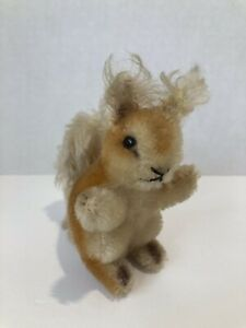 Vintage Steiff Squirrel, Germany, 4in, No Tag Or Button