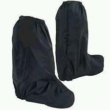 Black Waterproof  Motorcycle Rain Boot Covers gaitor gaiter  Rain Guard large