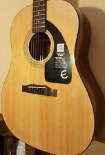 New!Epiphone AJ -100 Acoustic Guitar, Vintage Natural