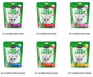Kit Cat Breath Bite Cat Treats AU STOCK 60g