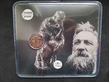 2 Euro Commémorative Coincard Bu France 2017 ; Rodin