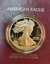 1989 American Silver Eagle Proof Coin - ENN Coins #89-B SE