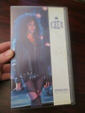 Cher Extravaganza Live at the Mirage  VHS Video Tape (NEW)