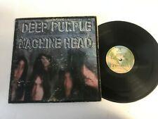 Deep Purple Machine Head w/poster Metal Rock Record lp original vinyl album