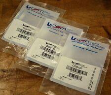 L-Com DGB15F Slimline Gender Changer 9 Pin DB15 Female/Female - Lot of 3 - NEW
