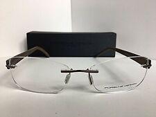 6acdc170a07 New PORSCHE DESIGN P 8209 P8209 A 52mm Rx Rimless Eyeglasses Frame Italy