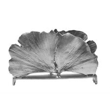 SILVER SEASONS TABLE ART BY MICHAEL MICHAUD ~ GINGKO BUSINESS CARD HOLDER CH03AP