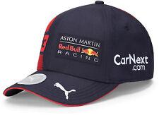 PUMA Red Bull Racing F1 Max Verstappen Baseball Cap Hat Navy Blue