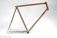 Vintage Rossin Quattro Bicycle Frame Columbus Gilco Tubes 57cm Rare NOS