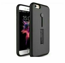 Iphone 4 Armor Case With Ring And Stand - BLACK