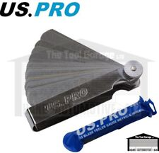 US PRO Tools 32 Blade Dual Marked Feeler Gauge Metric & Imperial NEW 5867