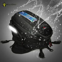 Waterproof Motor Oil Fuel Tank Bag Magnetic Saddle Bag Single Shoulder Backpack