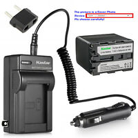CCD-TRV238E Handycam Camcorder LCD Dual Fast Battery Charger for Sony CCD-TRV228 CCD-TRV228E CCD-TRV238