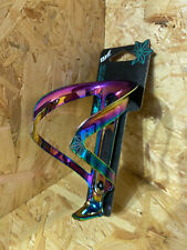 Supacaz Fly Cage Ano Oil Slick 18g 100% Anodized Aluminum Bottle Cage