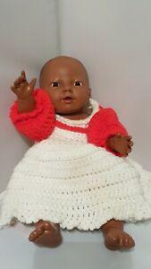 """Vintage 1986 Eegee African American 14"""" Baby Doll"""