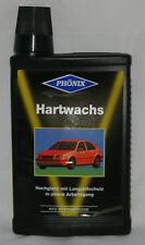 Hartwachs Hart Wachs Autopflege 500 ml Auto Politur Phönix Systempflege