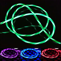 Flowing LED Glow Light USB Data Sync Fast Charge Cable For Android/Type-C HOT