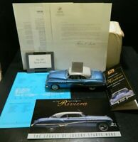 Franklin Mint 1949 Buick Roadmaster Riviera 1:24 Precision Diecast Origin Box Ex