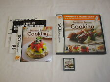 Personal Trainer Cooking (Nintendo DS) Original Release Complete Nr Mint!