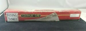 Schyling  Flying  Yankee  Streamline Train Three Tin Car Wind- Up / Has Key!