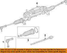 CHRYSLER OEM Steering Gear-Outer Tie Rod End 68185503AD