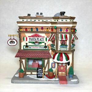 Lemax Christmas Village 2017 Signature Collection Papa's Pasta Place Restaurant
