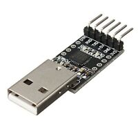 6Pin USB 2.0 to TTL UART Module Serial Converter CP2102 STC Replace Ft232 M W8P2
