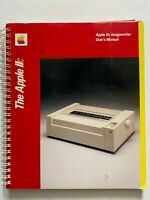 Vtg 1984 Macintosh Apple IIc Imagewriter Printer Users Manual Spiral Bound Book