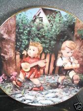 Danbury Mint Hummel 1990 Private Parade Mandolin Drum Ltd Ed Plate Mib