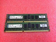 Kingston 16GB(2 x 8GB) KVR16R11S4/8I PC3-12800 DDR3 Registered ECC RAM - R110