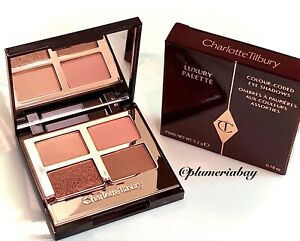 CHARLOTTE TILBURY Luxury Palette PILLOW TALK Eyeshadow Quad ~ NEW IN BOX