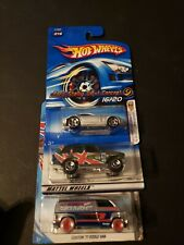 🔥 HOT WHEELS LOT OF 3 FORD SHELBY DODGE VAN & RANGE ROVER 🔥