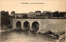 CPA MARSEILLE Pont de la Fausse Monnaie (404837)