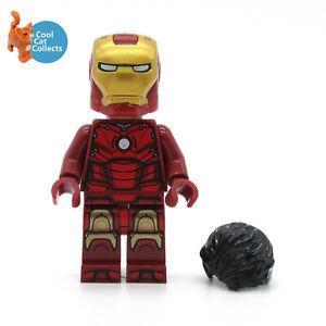 Genuine Lego Marvel Superheroes Iron Man Mk 3 Minifigure (sh739) from 76190