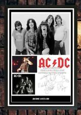More details for (#433) ac/dc bon scott signed a4 photo/framed/unframed (reprint) great gift @@@@