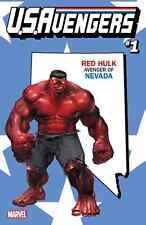 US AVENGERS 1 RED HULK NEVADA STATE VARIANT NM