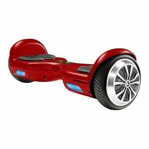Swagtron T881 Hoverboard Adults Lithium-Free 250W Balance UL2272 Red Open Box
