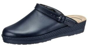 Rohde Neustadt Clogs Clinic Kitchen Shoes Mules Slippers Women's Blue 1440