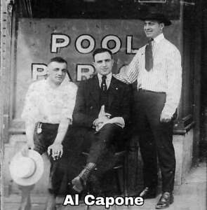 Al Capone young Chicago Crime Boss vintage photo reproduction
