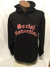 Social Distortion Hoodie Sweatshirt Pullover Large Mike Ness Ring Of Fire Punk