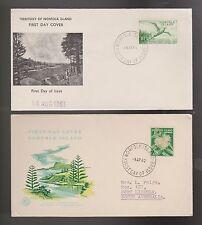 Briefmarken aus Australien mit Ersttagsbrief-Erhaltungszustand