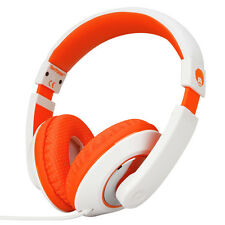 Adjustable Over-Ear Kids Childrens Teens DJ Headphones Headsets DVD iPod MP3 PC