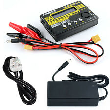 RC Turnigy Accucel 6 50W 6A Lipo Balance Charger & Power Supply Plane Car XT60